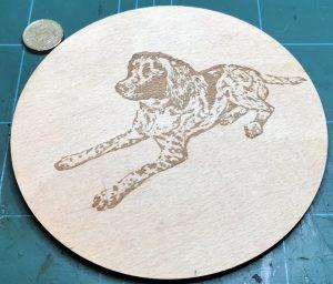 Engraved Monty